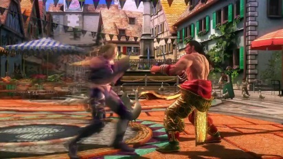 Tekken Revolution - Additional Characters Feng & Nina Update 1.2 Trailer