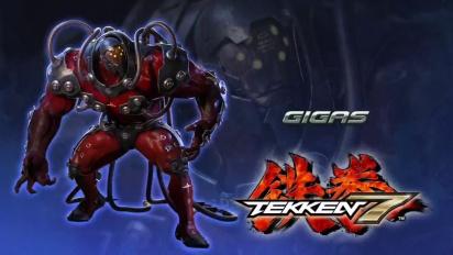 Tekken 7 - Japanin Gigas-paljastustraileri