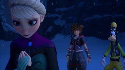 Kingdom Hearts III - E3 2018 -Frozen-traileri
