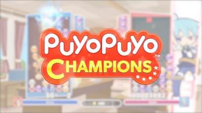 Puyo Puyo Champions - julkaisutraileri