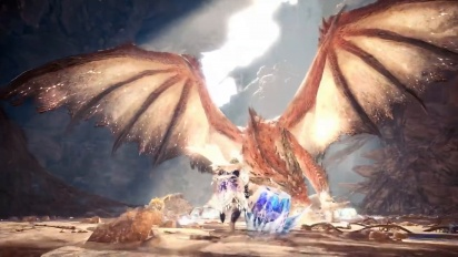 Monster Hunter World: Iceborne - Safi'jiiva Siege -traileri
