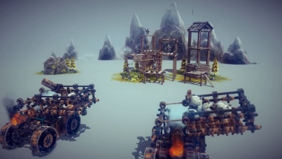 Besiege - Multiverse Multiplayer & Level Editor -traileri