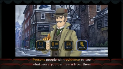The Great Ace Attorney Chronicles - Gameplay-traileri