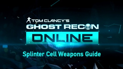 Ghost Recon Online - Weapons Guide Trailer