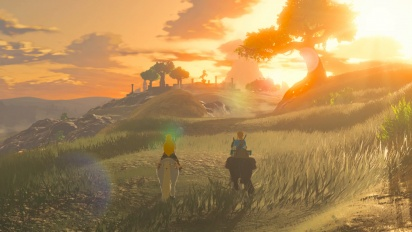 The Legend of Zelda: Breath of the Wild - japanilainen traileri Guardista
