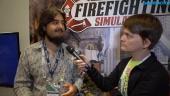 Firefighting Simulator - Gregor H. Max Koch haastattelussa