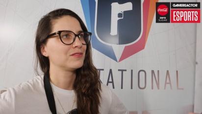 Six Invitational 2018 - Laure Guilbert haastattelussa
