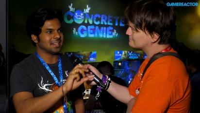 Concrete Genie - Arjun Harisena haastattelussa