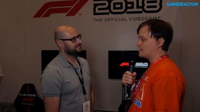 F1 2018 - Lee Mather haastattelussa