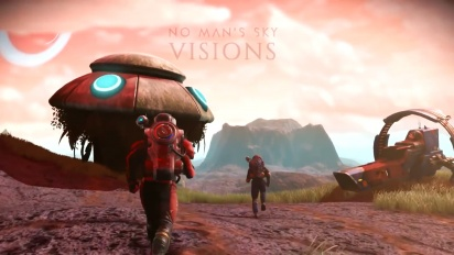 No Man's Sky - Visions-traileri