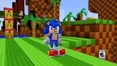 Minecraft x Sonic DLC: virallinen traileri