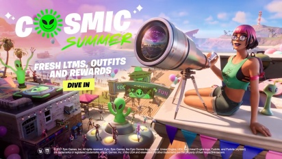 Fortnite - Cosmic Summer Event Traileri