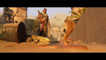 Assassin's Creed Origins: Gamescom-traileri