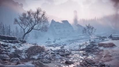 Horizon: Zero Dawn - The Frozen Wilds - ympäristöistä traileri