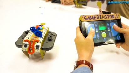 Nintendo Labo: Variety Kit - Assembling the RC Car Toy-Con and Gameplay