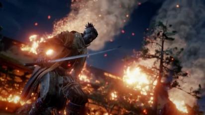 Sekiro: Shadows Die Twice - E3 2018 -julkistustraileri