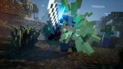 Minecraft Dungeons - julkaisutraileri