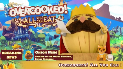 Overcooked! All You Can Eat - Julkistustraileri (Switch, PS4, Xbox One, Steam)