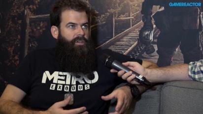 Metro Exodus - Jon Bloch haastattelussa