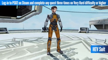 Phantasy Star Online 2 - Steam-julkaisutraileri