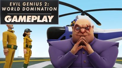 Evil Genius 2: World Domination - Gameplay-traileri