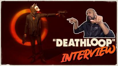 Deathloop - Dinga Bakaba haastattelussa
