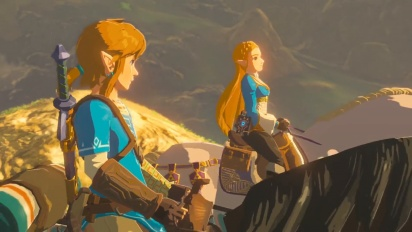 Nintendo Switch - japanilainen TVCM 3: The Legend of Zelda: Breath of the Wild