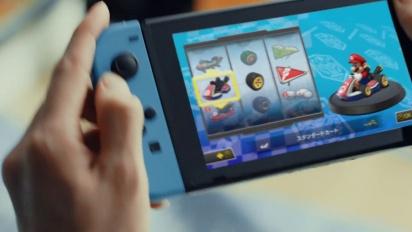 Nintendo Switch - japanilainen TVCM 1: Mario Kart 8 Deluxe