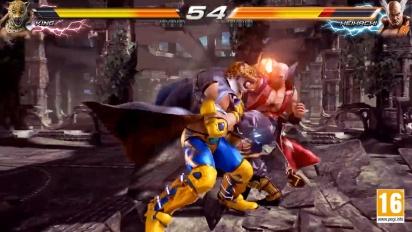 Tekken 7 - King vs. Heihachi -pelikuvaa