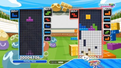 Puyo Puyo Tetris - Perfect Clear -opastus