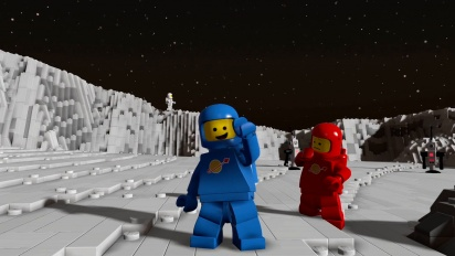 Lego Worlds - Classic Space Pack -traileri
