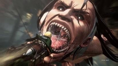 Attack on Titan 2 - paljastuspätkä