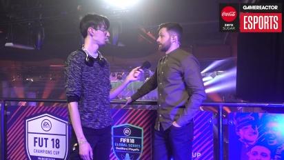 FUT Champions Cup Manchester - Spencer Owen haastattelussa
