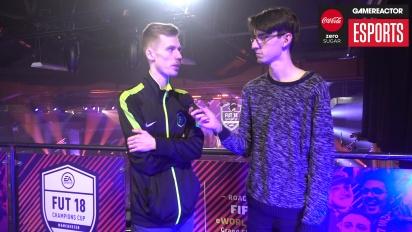 FUT Champions Cup Manchester - FUTWIZ Pricey haastattelussa