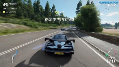 Forza Horizon 4 - E3-pelikuvaa