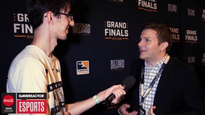 Overwatch League Finals - Jon Spector haastattelussa