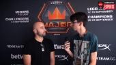 Faceit Major - Moses haastattelussa