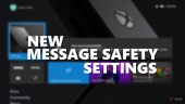 New Message Safety Settings - Introducing Xbox Text Filters