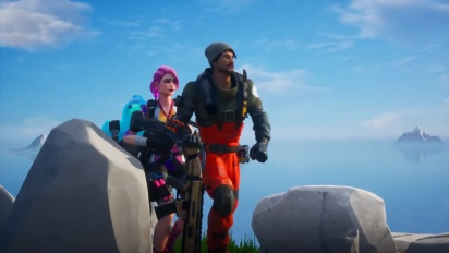 Fortnite: Chapter 2 elokuvallinen traileri