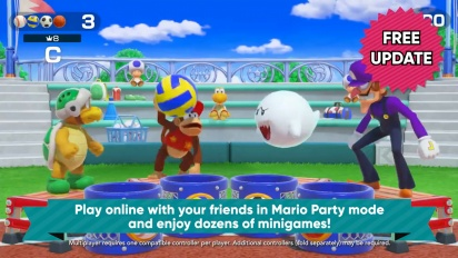 Super Mario Party - Online Update Trailer (v.1.1.0)