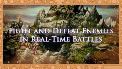 Legend of Mana - Gameplay-julkaisutraileri