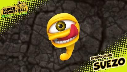 Super Monkey Ball: Banana Mania - Suezo Character Traileri