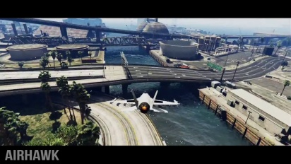Grand Theft Auto V - Epic Jet Stunt Montage