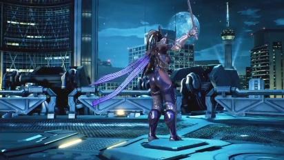 Tekken 7 - Master Ravenin julkaisutraileri