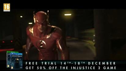 Injustice 2  - ilmaisen kokeilun traileri