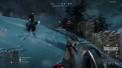 Battlefield V - Grand Operations PC-pelikuvaa - GeForce GTX 1080 Ti