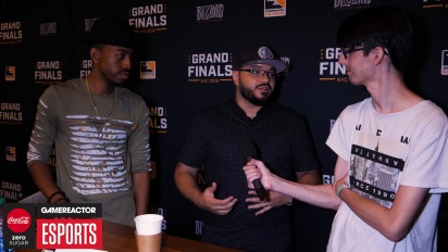 Overwatch League Finals - Goldenboy ja Malik Forte haastattelussa