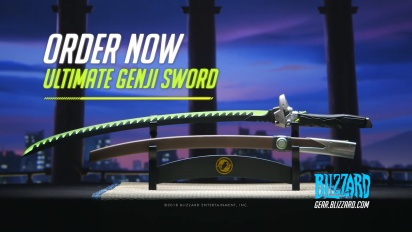 Overwatch - Ultimate Genji Sword Pre-Order -traileri