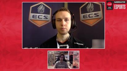 ECS Season 6 Finals - Gla1ve haastattelussa