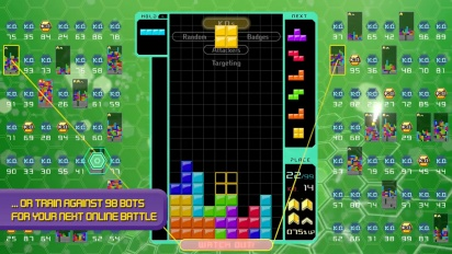 Tetris 99 - Big Block DLC -traileri